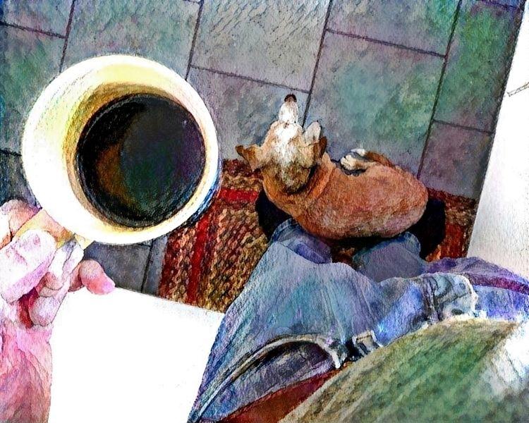 Coffee dog - kenlong | ello