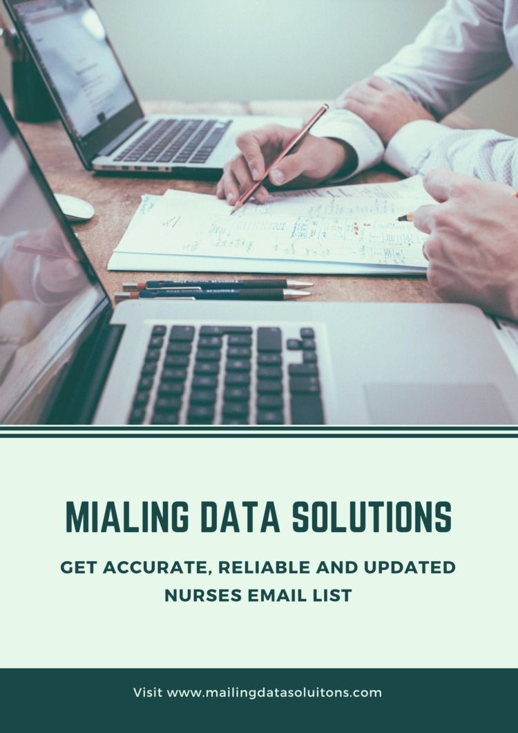 Nurses Email List Mailing Data  - mailigndatasolution   ello