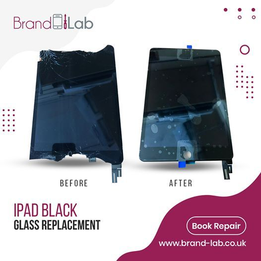 IPAD BLACK GLASS REPLACEMENT re - brandlablondonlimited | ello