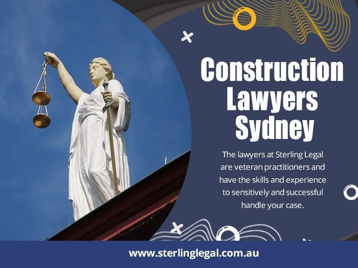 Construction Lawyers Sydney law - sterlinglegal | ello