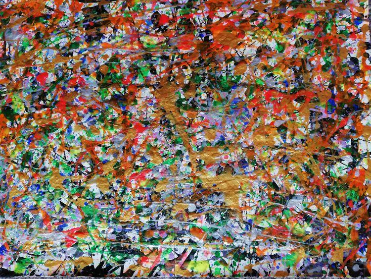 Entropy - Acrylic Paint - therainbowfairy | ello