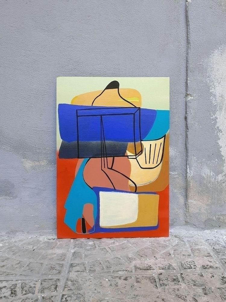 Cardboard passepartout - 50x35  - moonmambo | ello