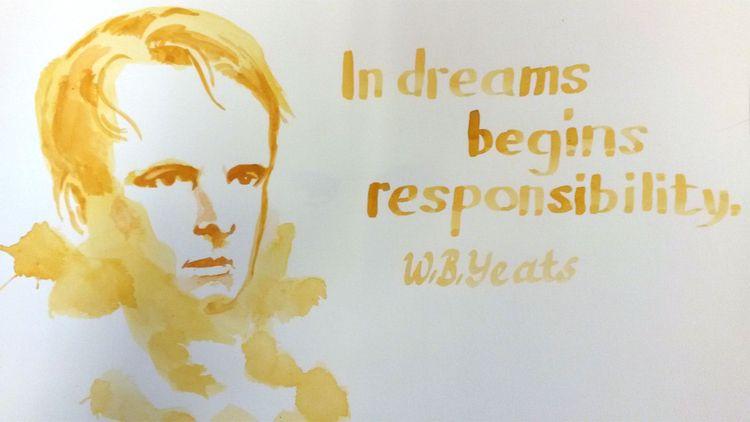 dreams begins responsibilty. -  - henkjanpanneman | ello