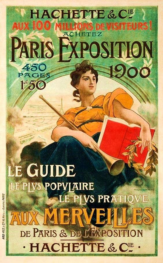 Paris Exposition 1900 Vintage P - zorrojacques   ello