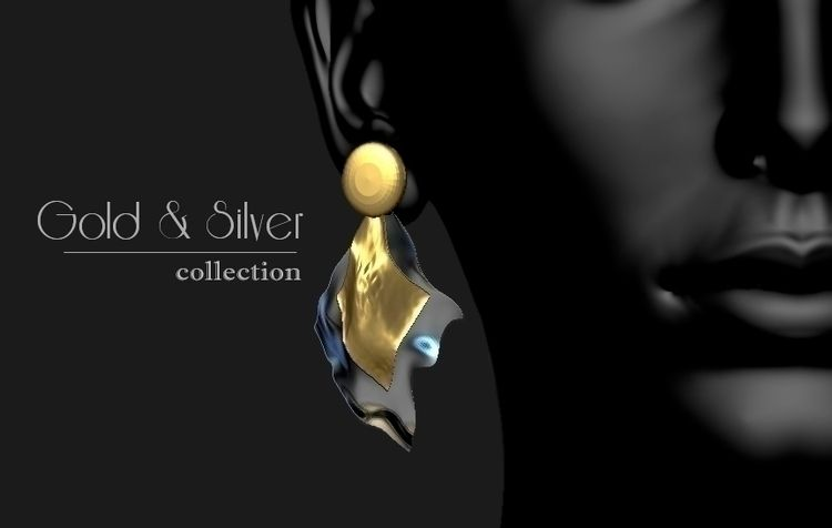 GOLD SILVER collection - ZBRUSH - lucianalancaster   ello