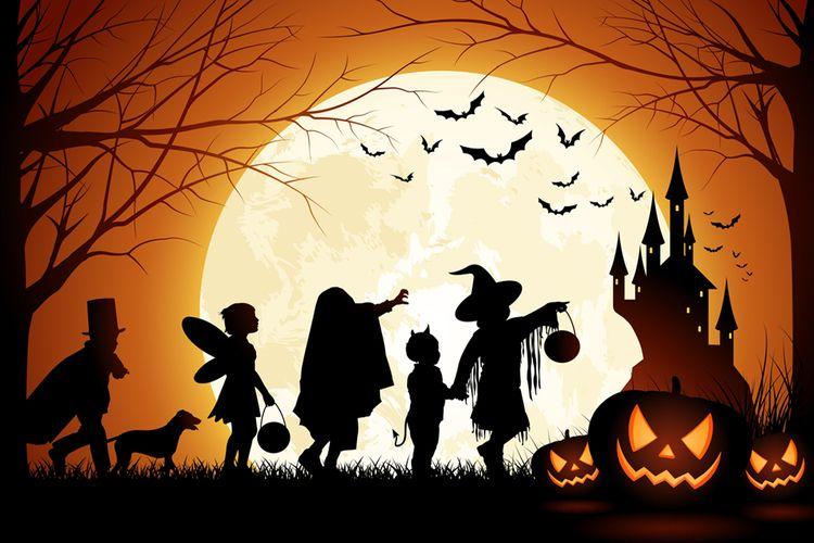 HALLOWEEN Halloween Hallowe'En  - legerdresses | ello