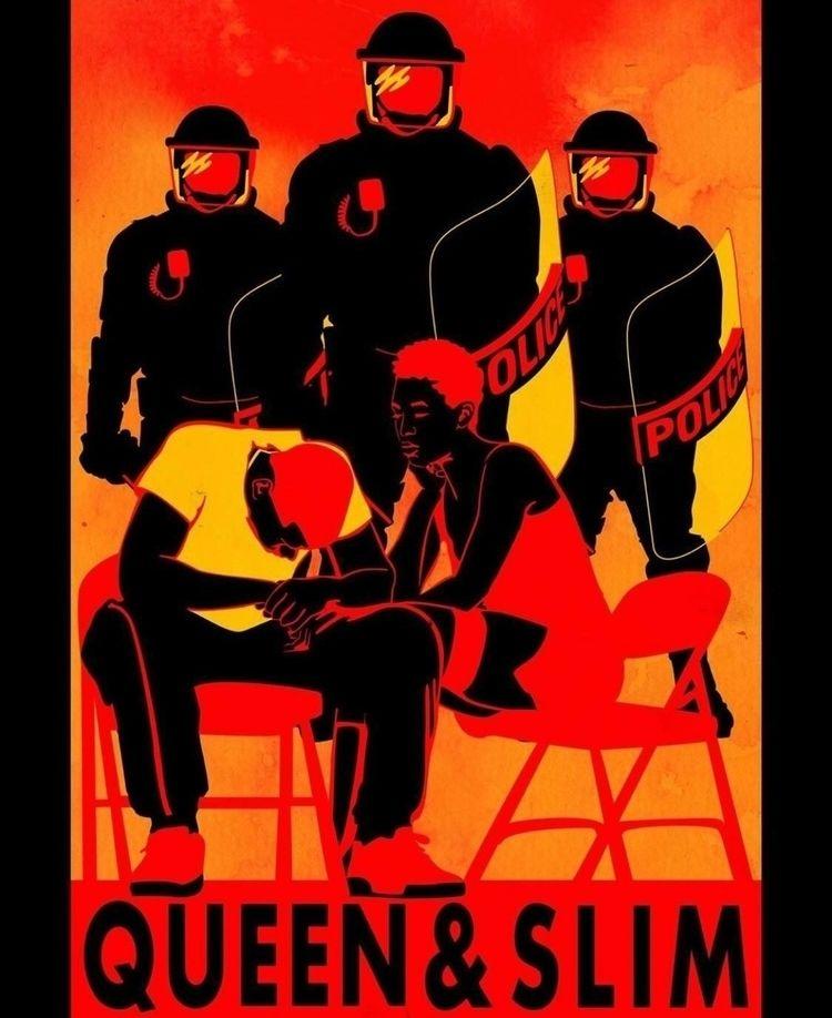 Poster designed movie Queen Sli - daichrisart | ello