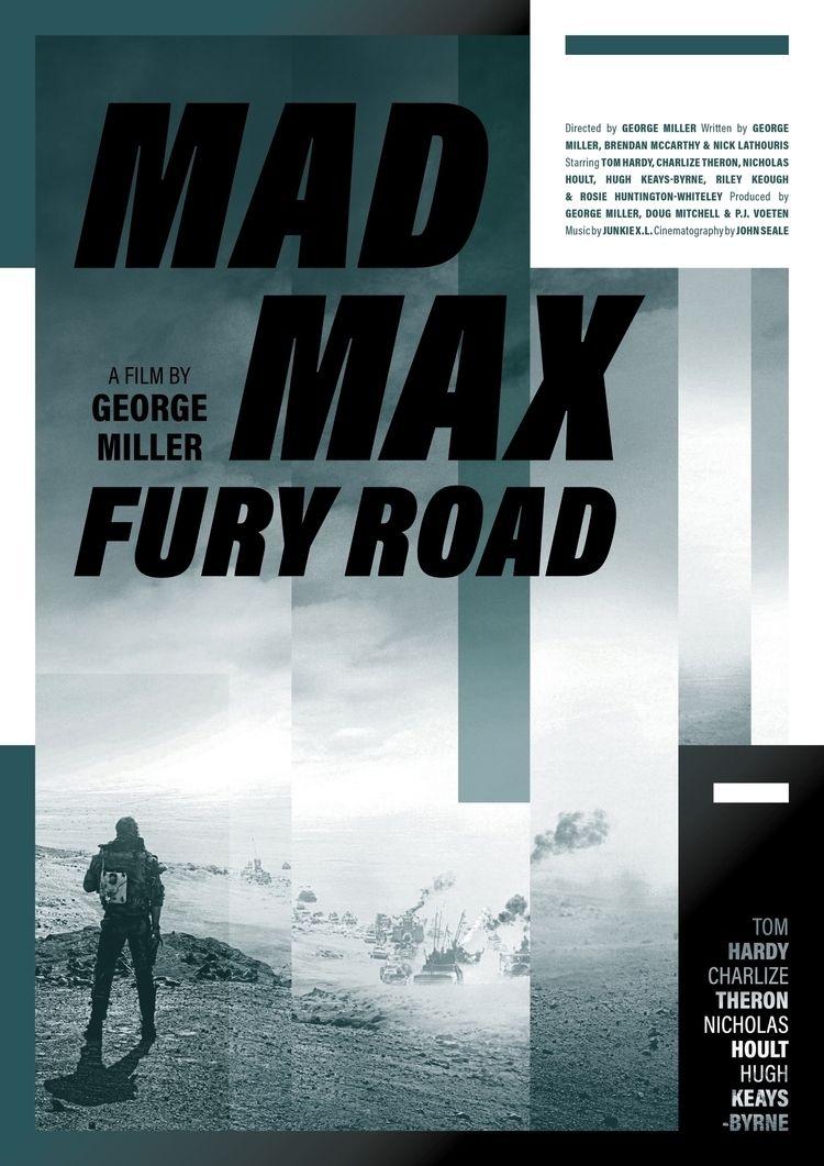 Film poster Mad Max: Fury Road  - mathieuvancamp | ello