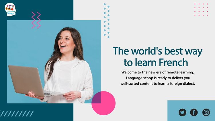 Learn French Beginners Online  - languagescoop | ello