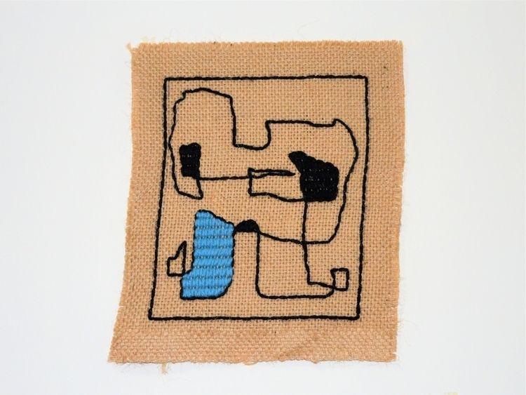 serie | wool line sackcloth tap - custodioartwork | ello
