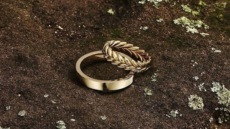 Gold Rings UK | Star Wedding ri - baieranna | ello