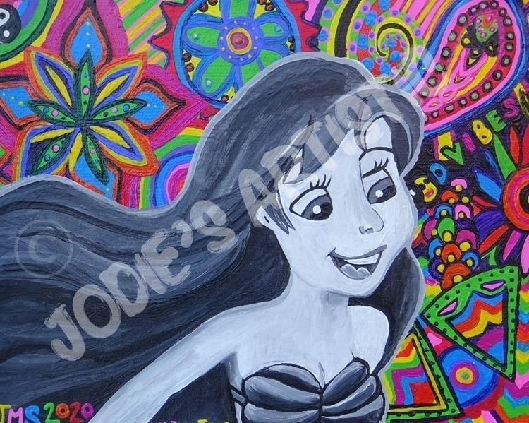 mermaid inspired psychedelic pi - avengedjodiefold | ello