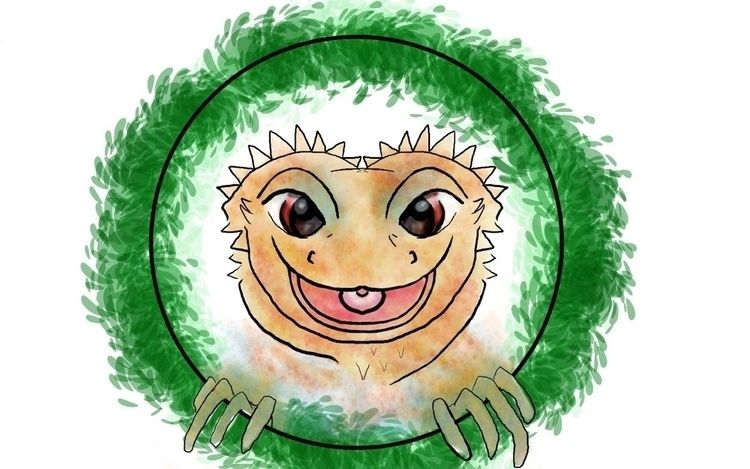 Happy Dragons - ellnocreations | ello