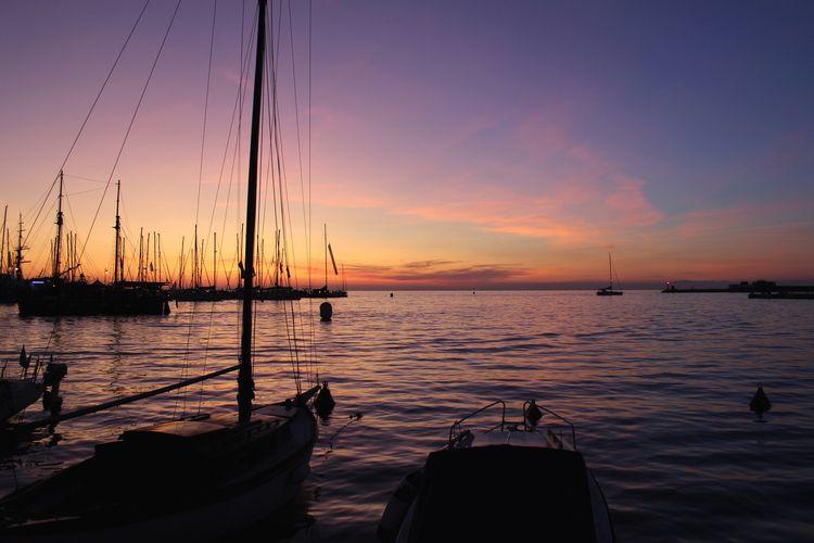 Sunset Trieste - Italy - sunset - eleonorabook | ello