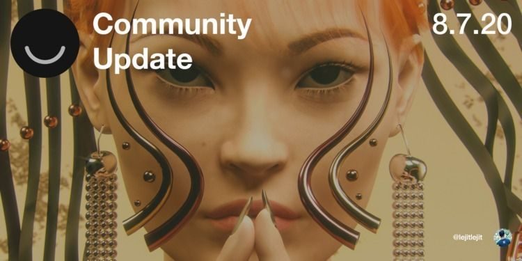 Community Update 8/7/2020 Happy - elloblog | ello