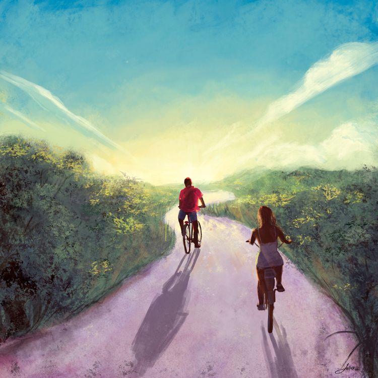 Ride - Commission (2020 - lheu | ello