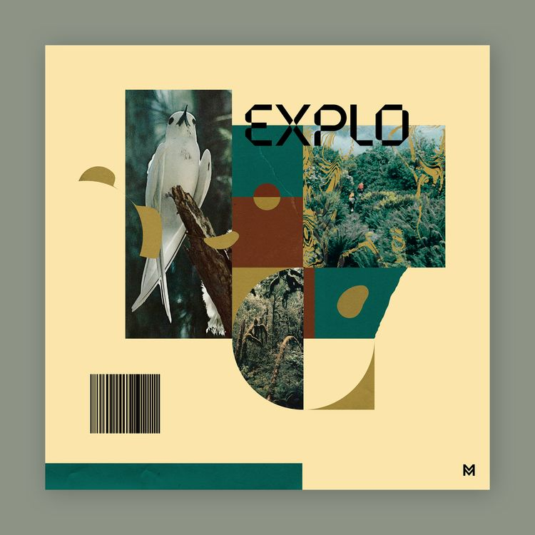 Explo Personal collage design - graphicdesign - mcinen | ello