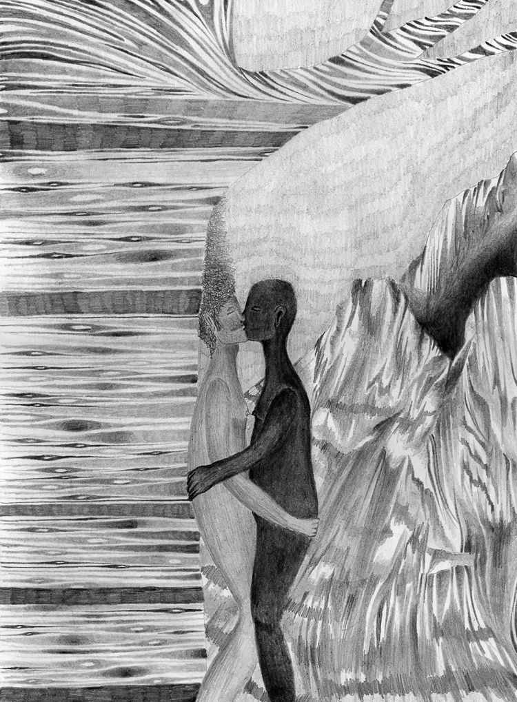 Light shadow relationship - drawing - catrielmartinez   ello