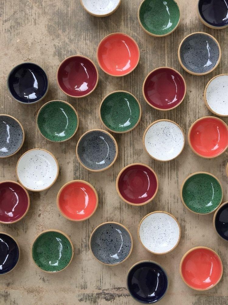 "3"" dipping bowls 6 glaze colour - pritpalbharaj   ello"