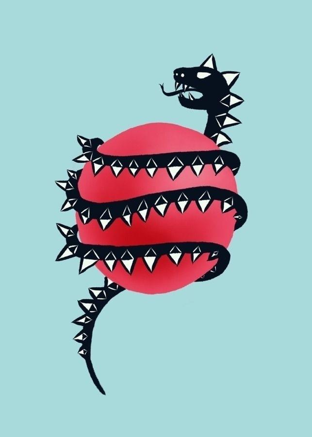 Dragon snake - dragon, art, illustration - borianag | ello