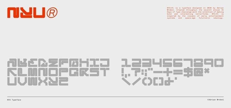 NYU Typeface Inspired visuals e - adrianwrobel   ello
