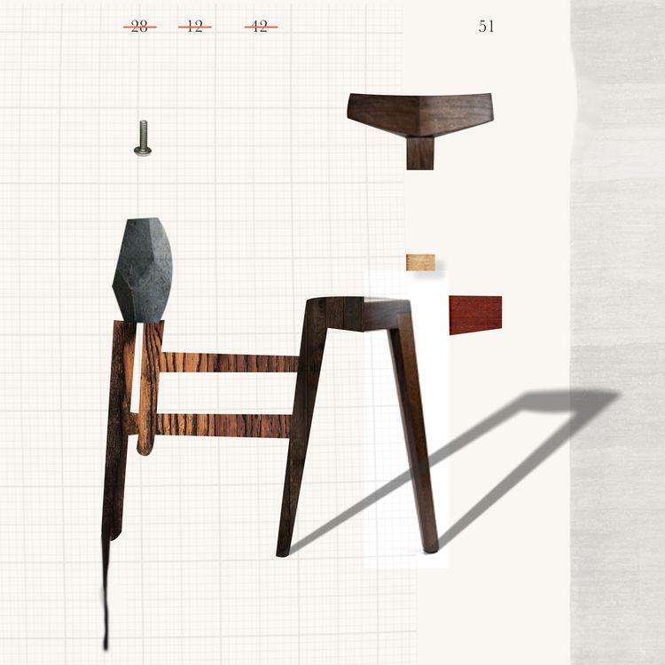 chairs handy - art, graphic, digital - markograf   ello