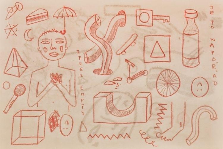 smth sketch book je napořád - sketches - annahruskova | ello