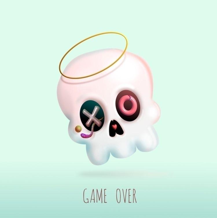 Game ~ Affinity Designer - 2D, illustration - trinkl   ello