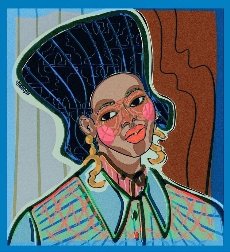 People ladies draw portraits  - tammygissell - tammygissell | ello