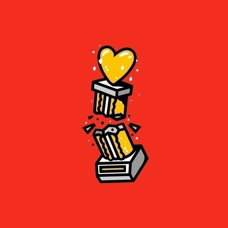"Love lost. DOUBLECAMP wanna."" s - bigshotrobot | ello"