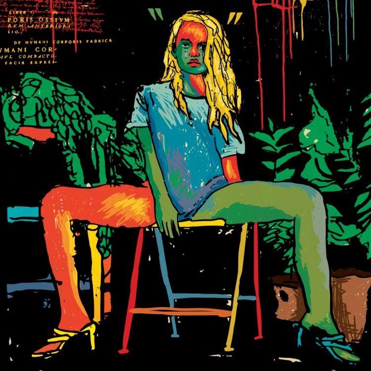 illustration. Girl sitting 2020 - daichrisart   ello