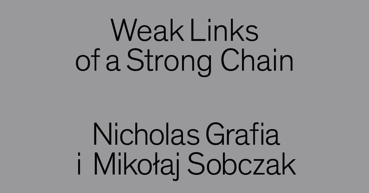 Weak Links Strong Chain story b - msnhomeoffice | ello
