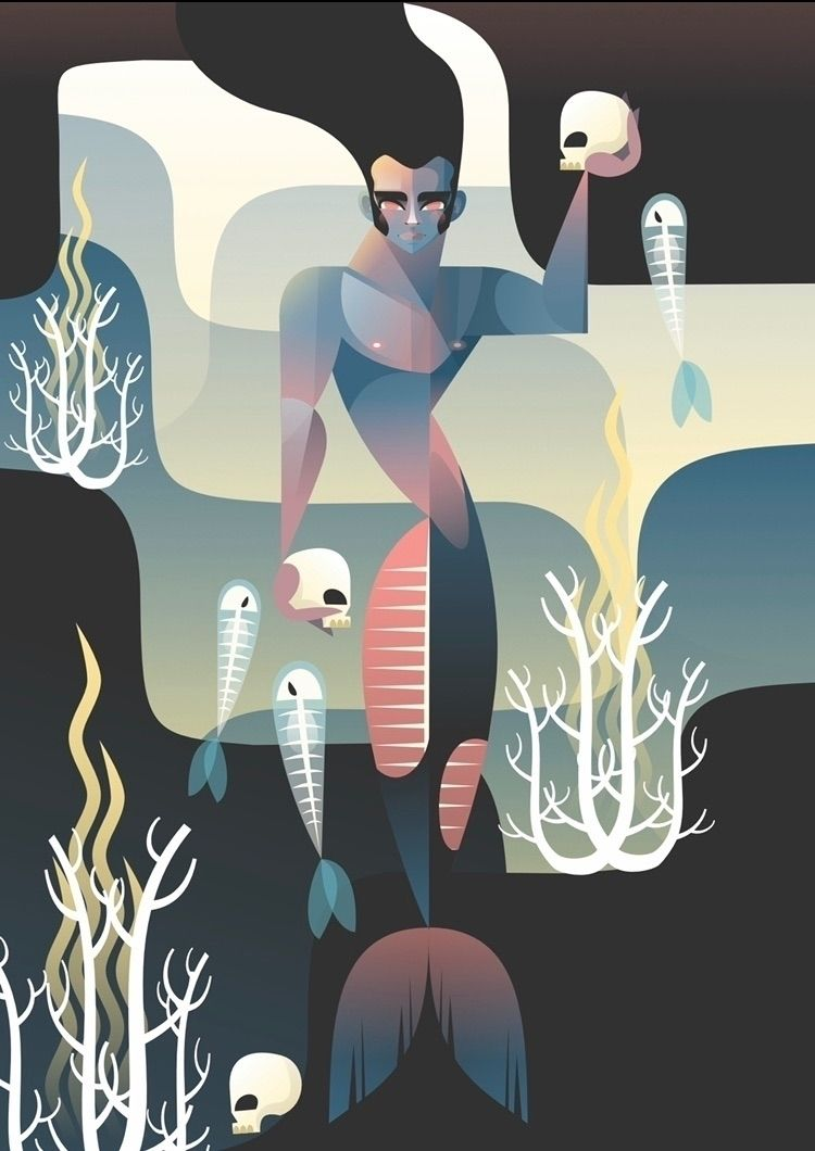 """Muerte en el mar"" es la obra c - castanoart | ello"