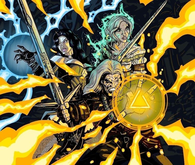 Witcher 3 commission. Medibang  - ragnaroktopus_ink | ello