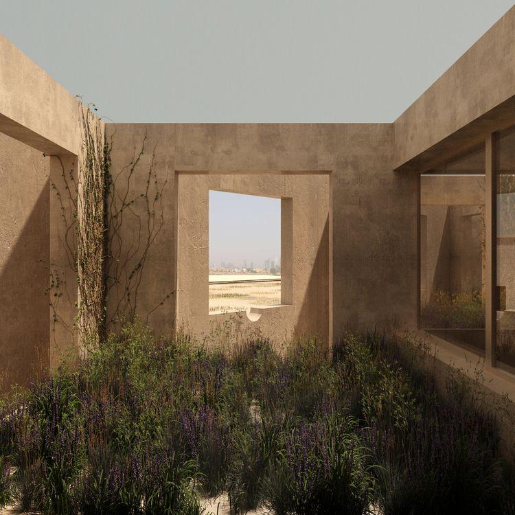 garden - architecture, desert, niches - tttt_ro | ello