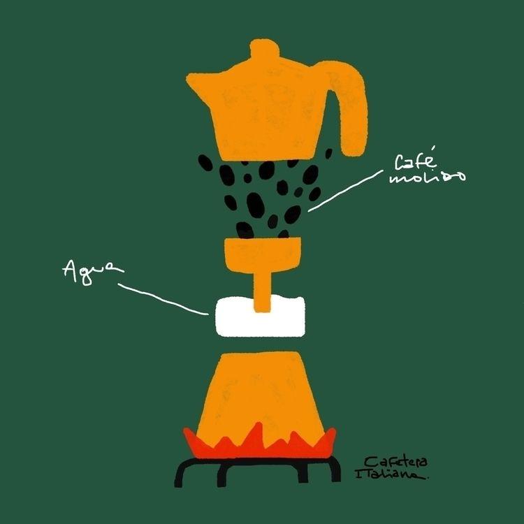 Cafetera italiana Alfonso Biale - sebamunoz   ello