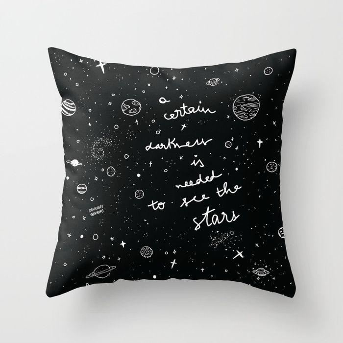 darkness needed stars - illustration - imaginarythinking | ello