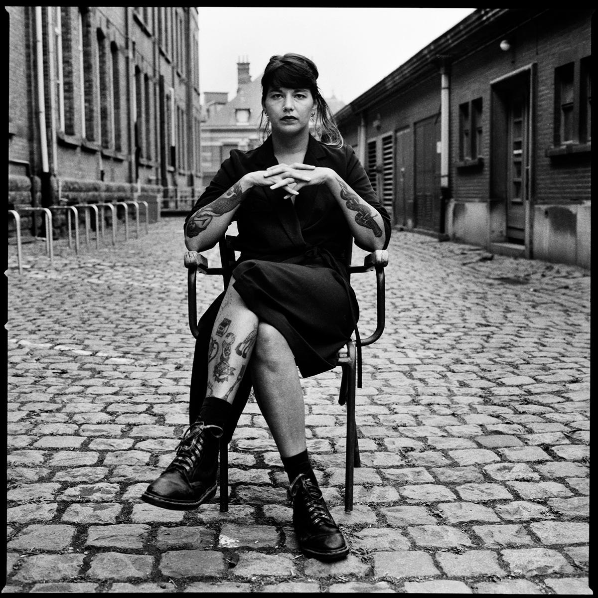 Camille - photography, blackandwhite - lorseau   ello