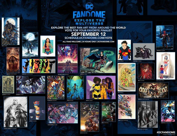 finalists DC Fandome: Explore M - artereniac   ello