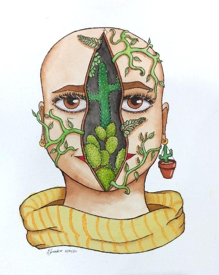Resilience. Watercolours paper - cadno | ello