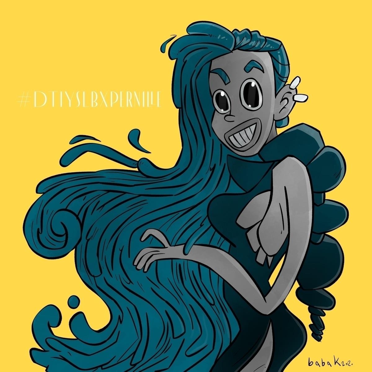 """""""Draw style""""  - characterdesign - babakesmaeli   ello"""
