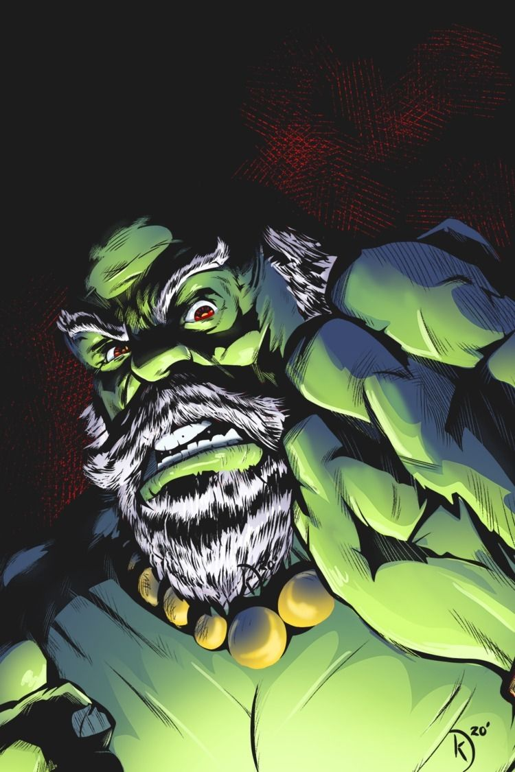 Hulk personality called Maestro - universek   ello