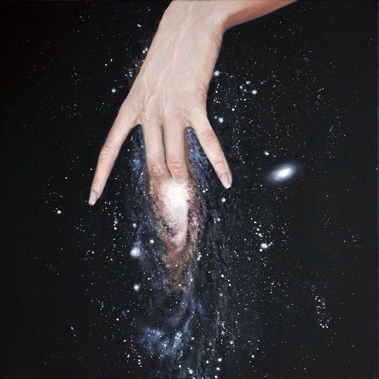 Andromeda Painting Zeynep Beler - geeksusie | ello