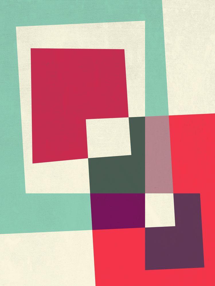 digitalart, geometricart, minimalart - susanapaz | ello