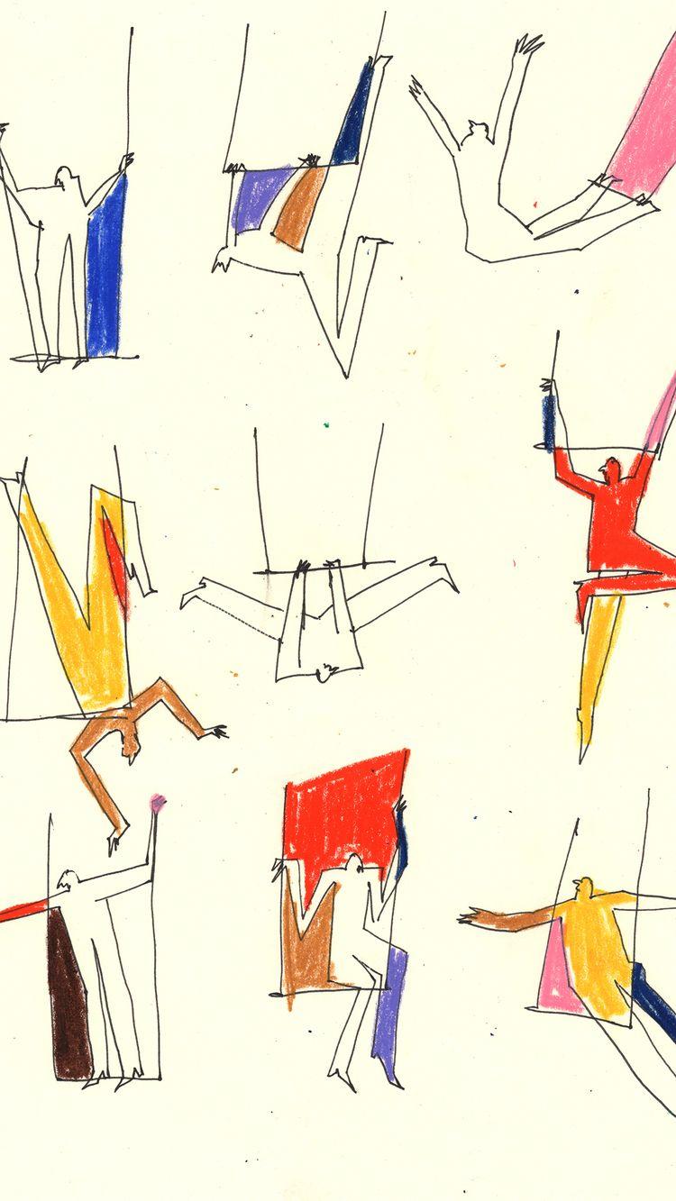 trapeze-artist studies upcoming - sonniekozlover   ello