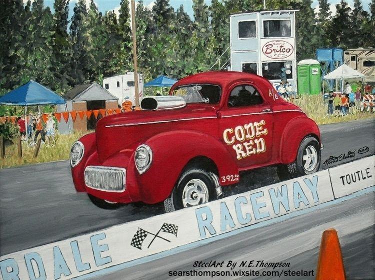 Code Red SteelArt - classic, car - n_e_thompson | ello