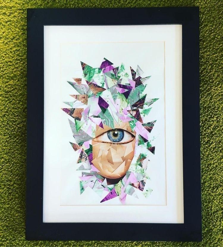 Título Rei da Terra dos Cegos - collage - geex   ello