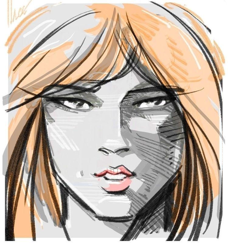 portrait, headshot - dlovelace | ello