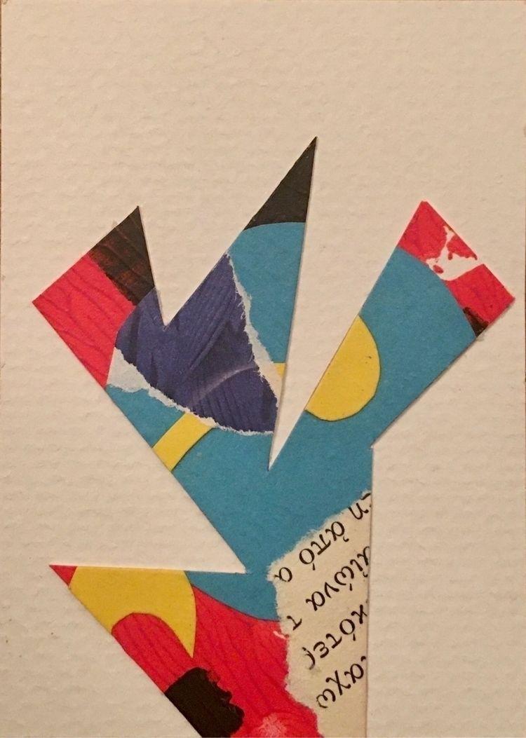 Scrap Happy paper collage artis - tim_ereneta | ello