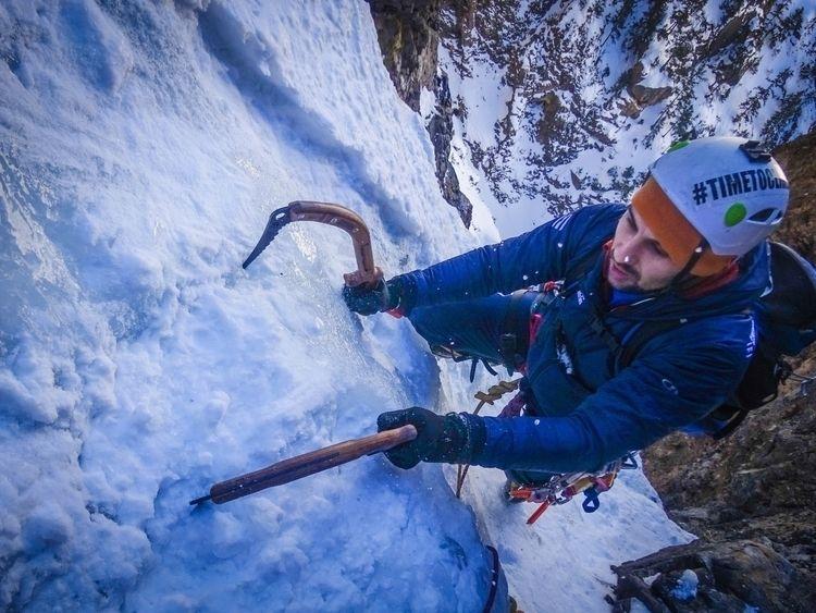 Training Ice Mixed Climbing Art - timetoclimb | ello